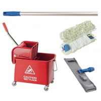 M2 Care Complete Flat Mopping System