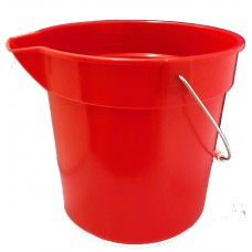 10 Litre Bucket (Red)