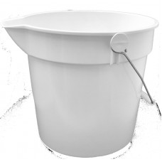 10 Litre Bucket (White)