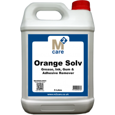 M2 Care Orange Solv  Water Soluble Solvent Carpet Spotter 5L