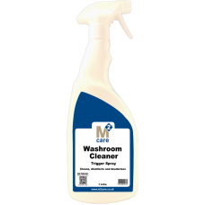 M2 Care Total Washroom Cleaner Trigger Spray 1L