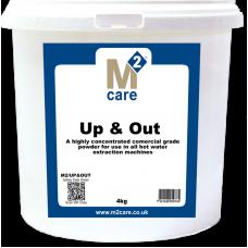 M2 Care Up & Out 4kg - Carpet Pre-Spray Powder
