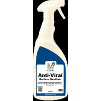 M2 Anti Viral Surface Sanitiser 1 Ltr Trigger Spray