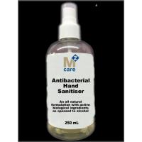 M2 Care Antibacterial Hand Sanitiser 250ml Spray