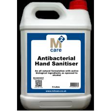 M2 Antibacterial Hand Sanitiser 5 Ltr