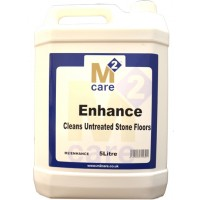 M2 Enhance 5L - Cleans Untreated Stone Floors