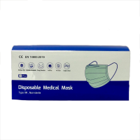 Disposable Medical Face Mask Complies with EN 14683:2019. CE Approved. Box of 50 Masks - VAT FREE