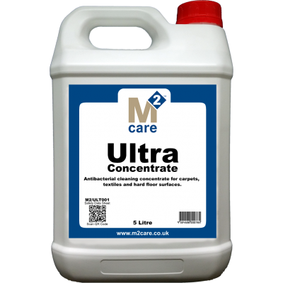 M2 Care Ultra Multi Surface Cleaner & Sanitiser Concentrate 5 Ltr